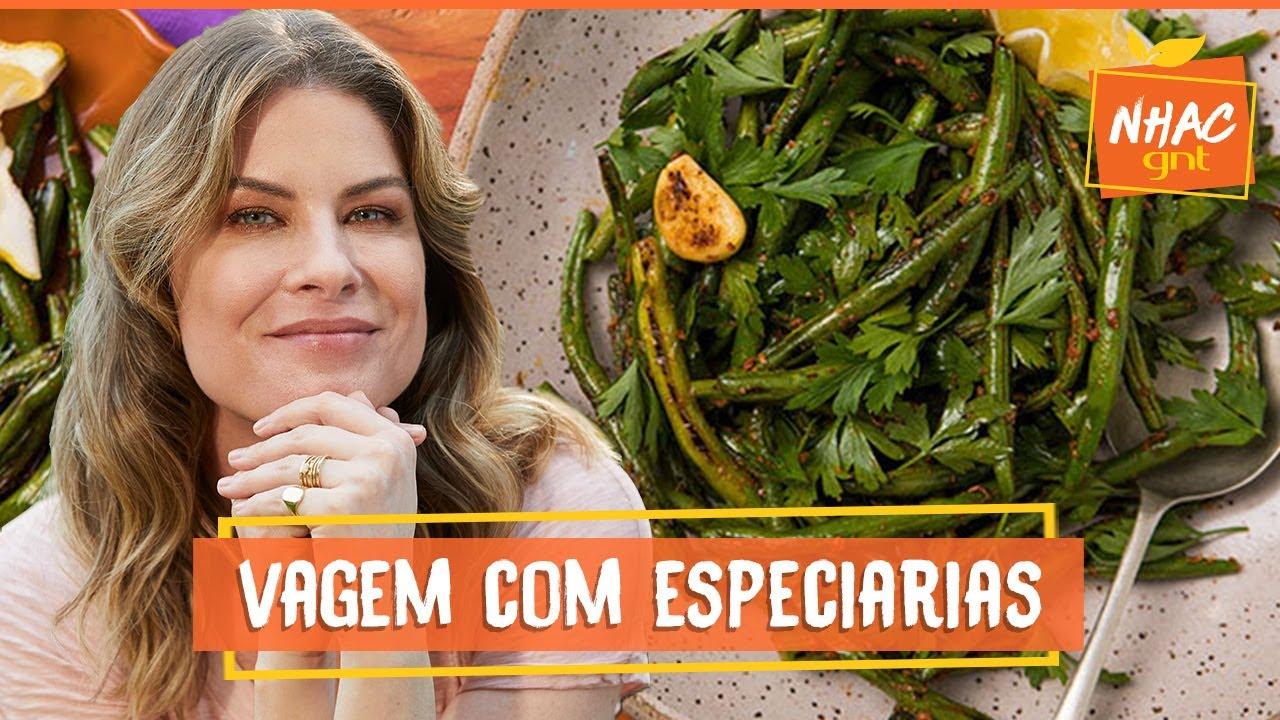 Vagem refogada com especiarias | Rita Lobo | Cozinha Prática