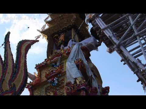Event In Bali - Royal Cremation Ceremony In Ubud 18.08.2011 HD
