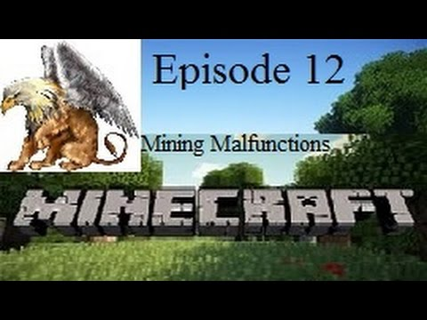 Lets Play Minecraft: Episode 12 | Major Mining Malfunctions