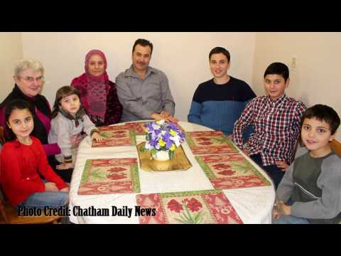 Chatham-Kent community welcomes Syrian family