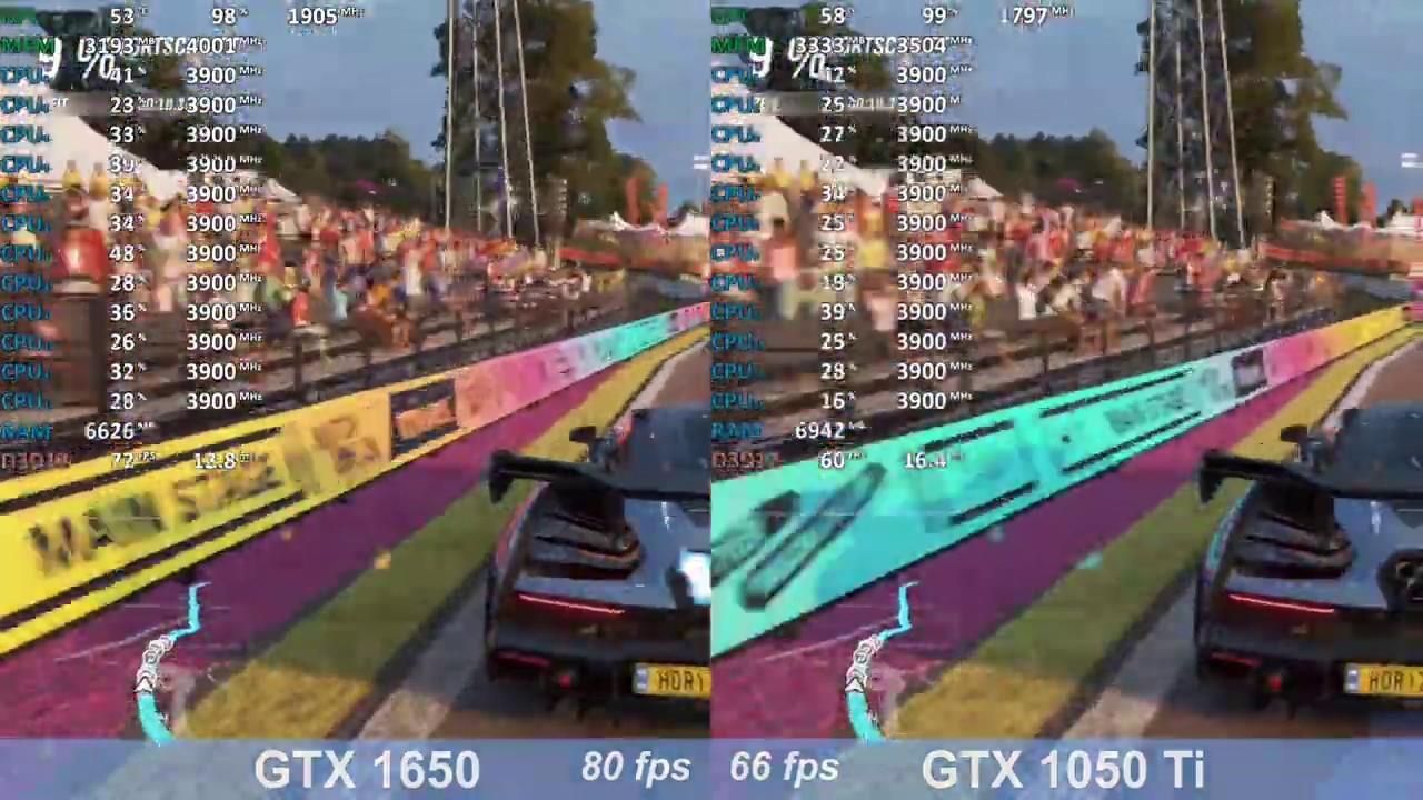 gtx 1050 ti vs gtx 1650