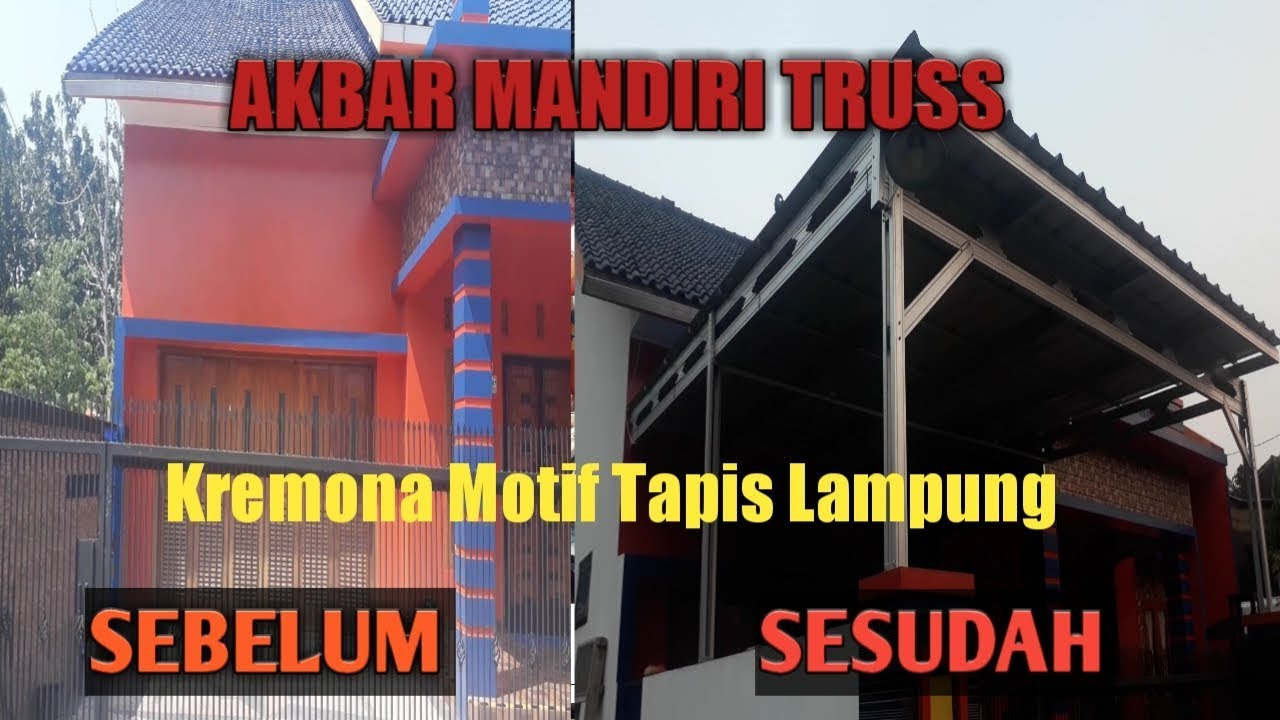 Olx Baja Ringan Lampung Kanopi Atap Spandek Model Kremona Tapis Youtube