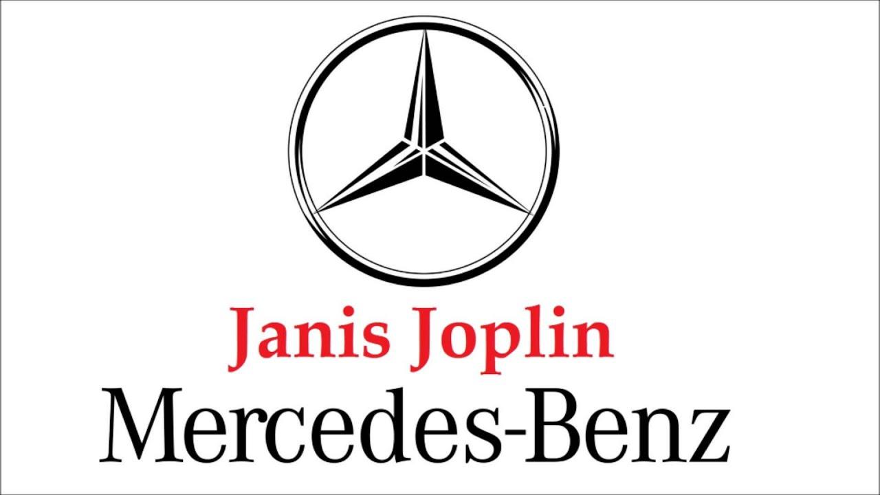 Janis joplin mercedes benz slopedabeat remix youtube for Janis joplin mercedes benz