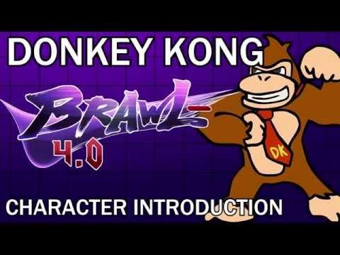 Donkey Kong - Brawl Minus Character Introduction #3