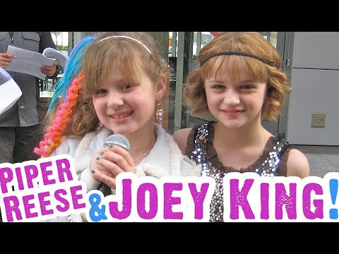 """JOEY KING Back Again with Piper Reese Talking """"BATTLE LOS ANGELES"""" on the Red Carpet!"""