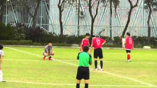 2015年10月22日 -- 屯門區學界足球賽A Grade