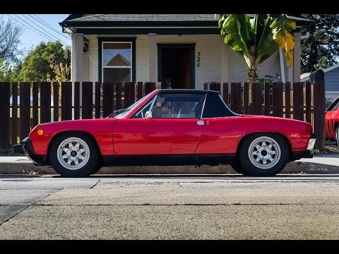 1974 Porsche 914 2 0 The First Affordable Mid Engine