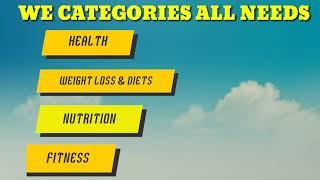 Health & wellness blog