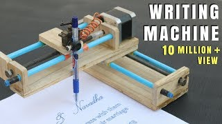 How To Make Homęwork Writing Machine at Home