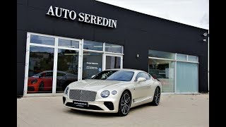 !!! FIRST EDITION !!! Bentley NEW Continental GT White + Soundcheck | AUTO SEREDIN GERMANY