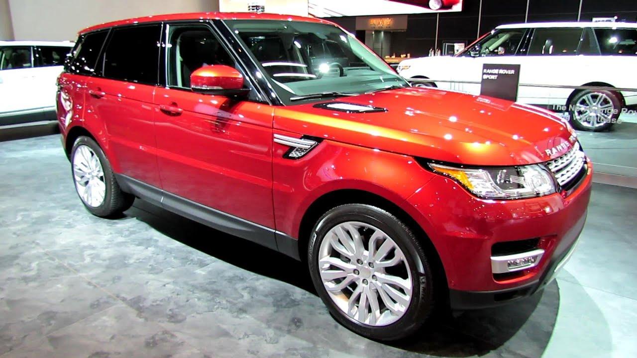 2015 Range Rover Sport HSE Exterior and Interior Walkaround