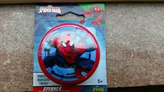 Dollar Tree Spider-Man Yo-yo Unboxing and Review with the Kids