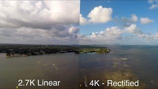 GoPro 2.7K Linear Mode vs. 4K Wide Angle