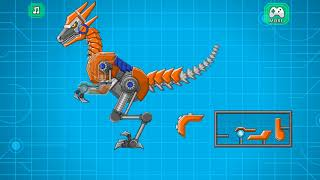 Super Transformer Robot Dinosaur Build and Fight Gameplay HD Part 4