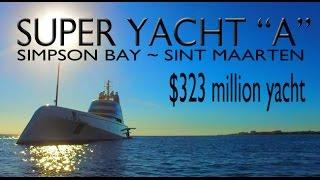 """$323 Million $ Super Yacht """"A"""" ~ Russian Billionaire Andrey Melnichenko ~ Maarten ~ WeBeYachting.com"""