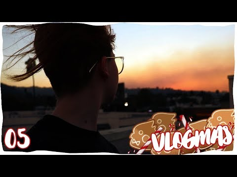 We're Surrounded by Fire   VLOGMAS 05