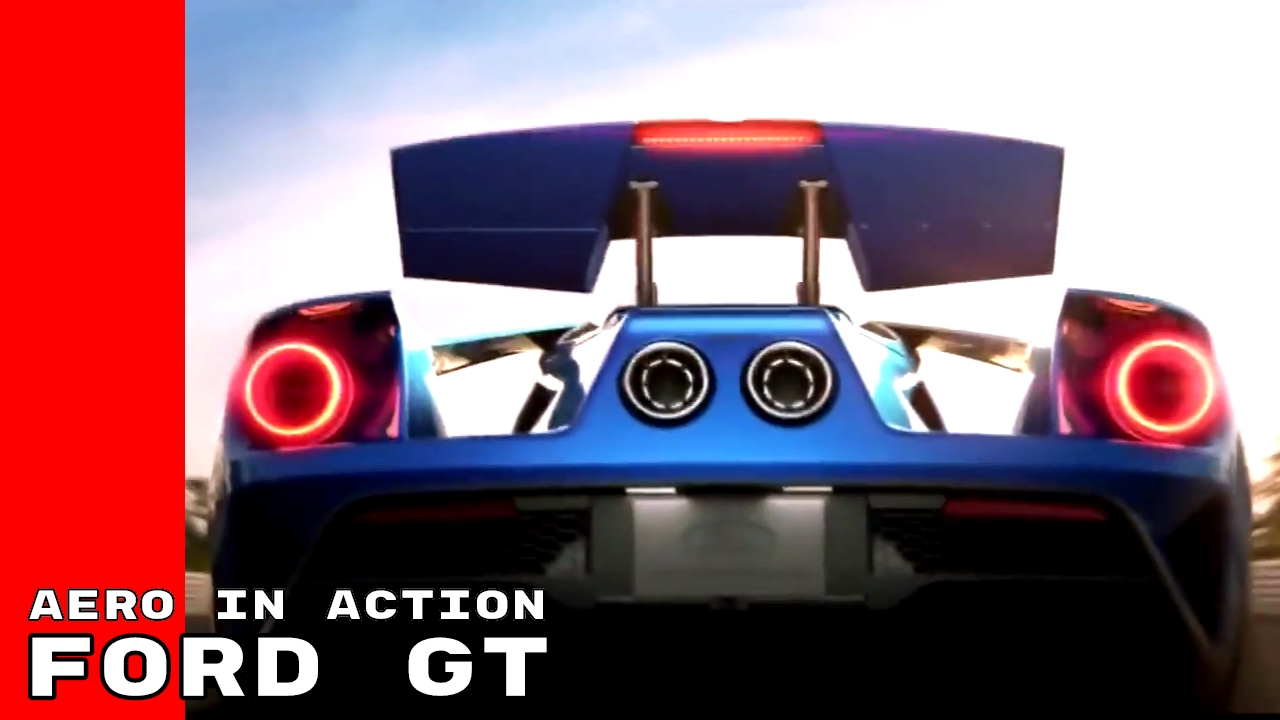 New Ford Gt Aero In Action