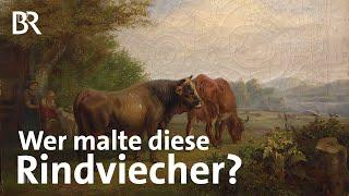 Zucht und Idylle: KÜHE AUF DER WEIDE | Kunst + Krempel | BR