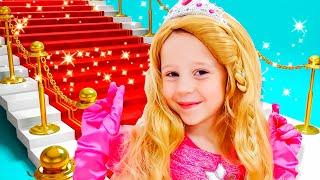 Stacy und Papa verkleiden sich für eine Party
