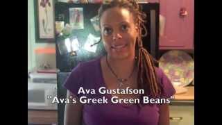 Ava Gustafson's Greek Green Beans Recipe