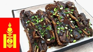 Mongolian Beef Ribs - Oven Baked Flanked Ribs - PoorMansGourmet(To get this complete recipe with all of the exact measurements and ingredients, check out my website: http://poormansgourmetkitchen.com/ 2 to 3 New Videos ..., 2016-04-14T21:21:52.000Z)
