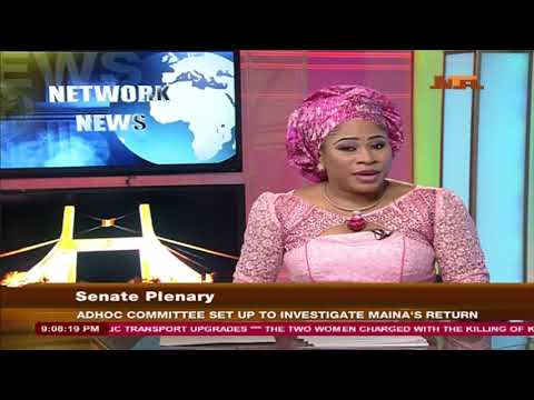 NTA Network: News With Seun Olagunju Tuesday 24/10/2017