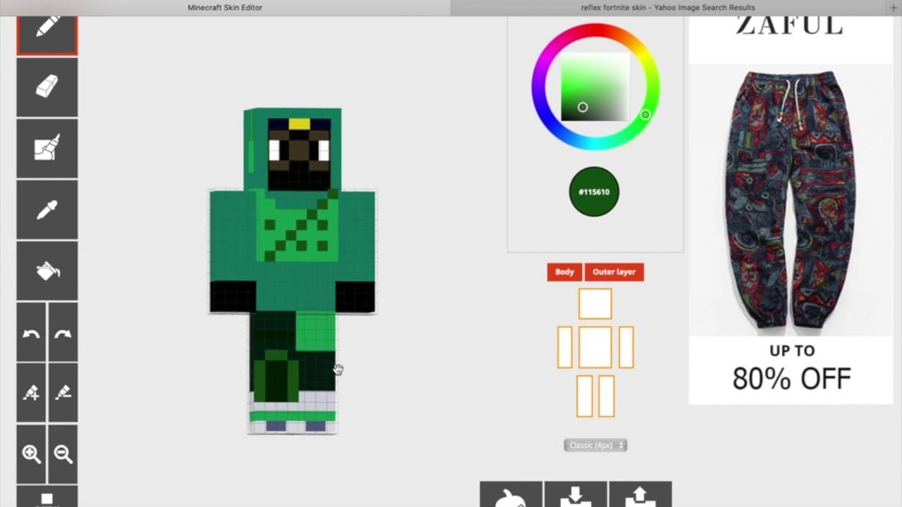 Making Reflex/ Mr.FreshAsian from Fortnite/ the skindex ...