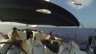 Sail From Split To Dubrovnik Along The Dalmatian Coast Of Croatia