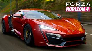 Forza Horizon 4 | W Motors Lykan Hypersport - Fast & Furious 7 Gameplay | Realistic Driving