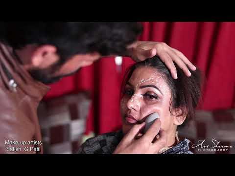 Western Bridal Make Up By Satish G Patil