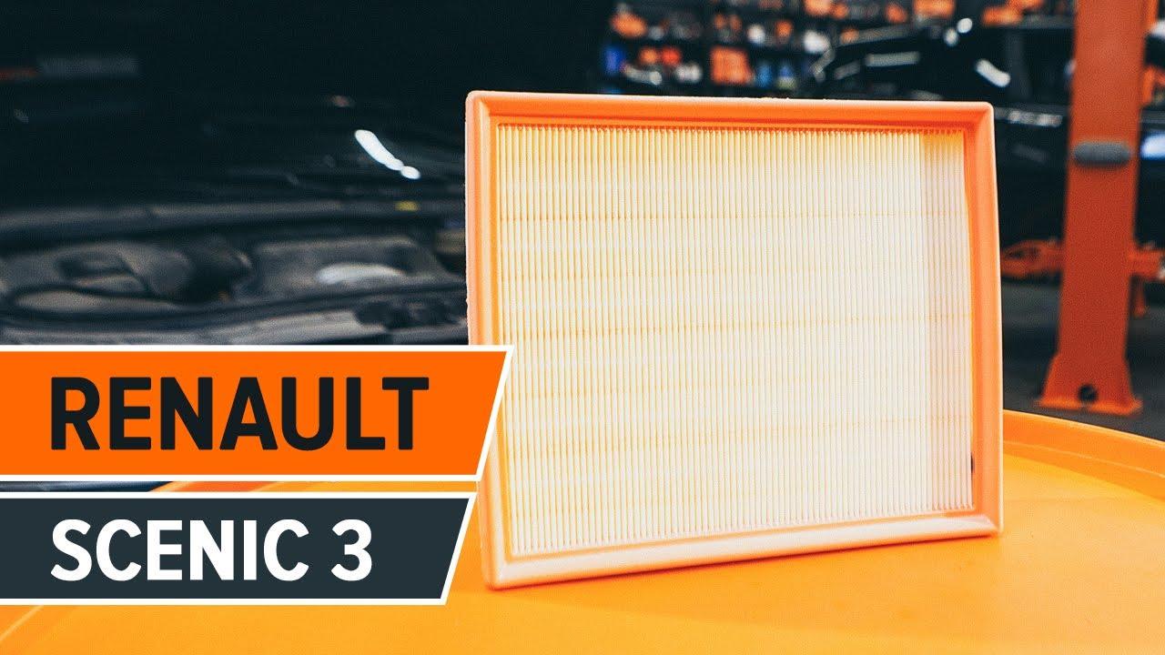 2004 - 1.4 1.5 dCi 1.6 1.9 2.0 dci 16 V cabine Filtre à Pollen Renault SCENIC MK3