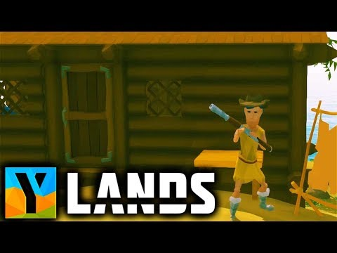 Ylands - First HOUSE, Repeating RIFLE And HOW To FIND CLAY! - Ylands Gameplay Part 4