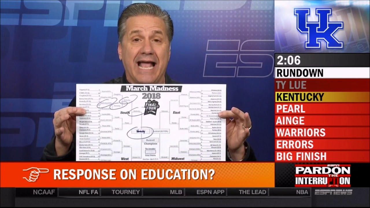 John Calipari calls the talk of Kentucky's easy road 'poison' for his players