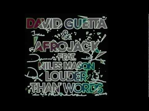 Louder Than Words Instrumental Version  AfrojackDavidGuettaNiles MasonDeejanos
