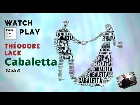 Théodore Lack : Cabaletta , Op. 83 - YouTube Theodore Lack