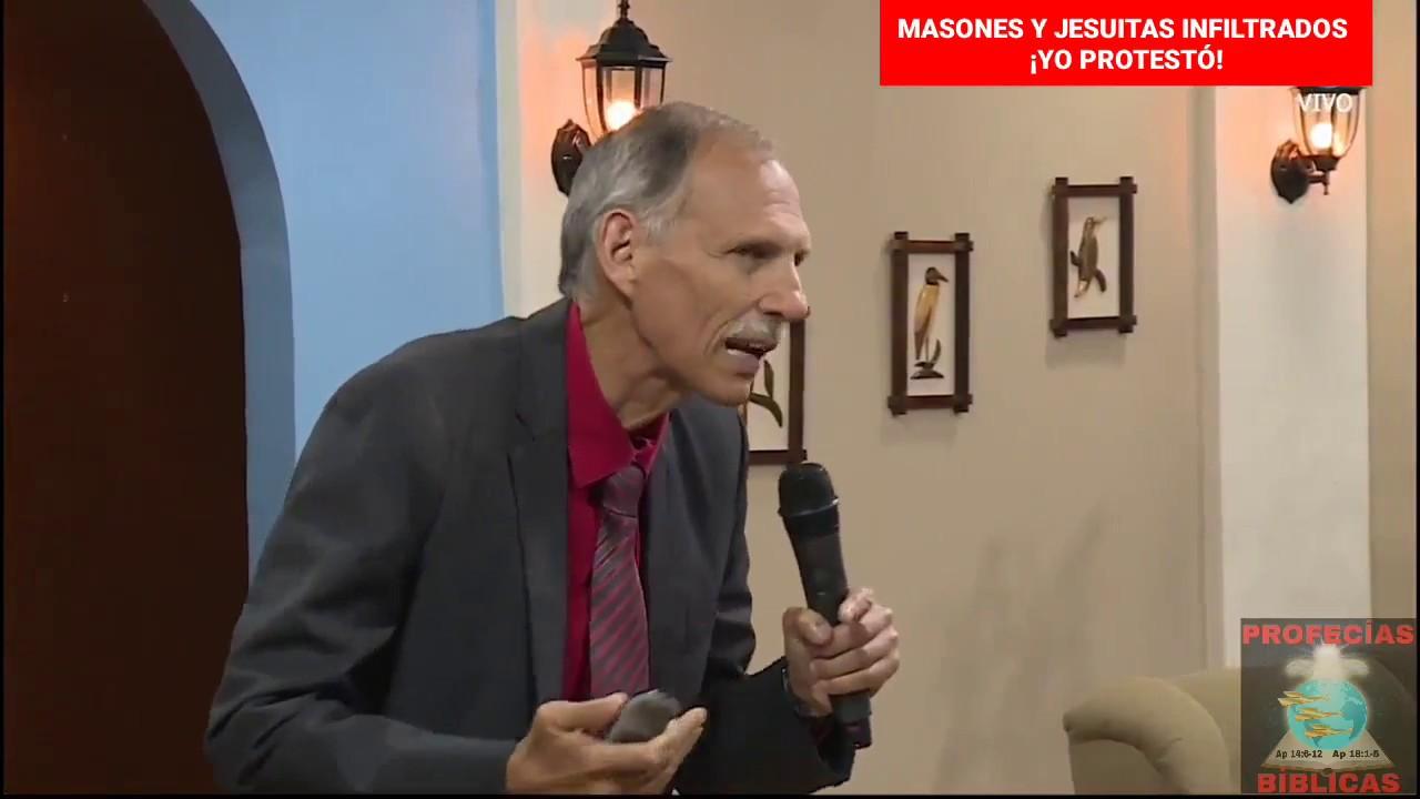 MASONES Y JESUITAS INFILTRADOS  ¡YO PROTESTÓ! (David Gates)