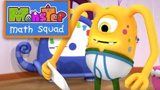 Monster Math Squad |  FULL EPISODE  | Monster Muffin Muddle | Learning Numbers Series
