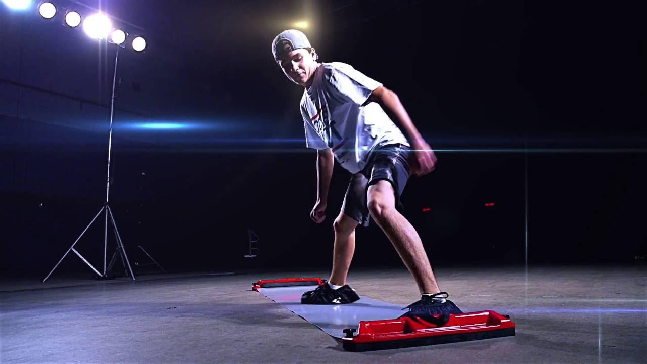 Utilis/ée par les pros Impressionnante planche de glisse de hockey Better Hockey Extreme Hockey Slide Board