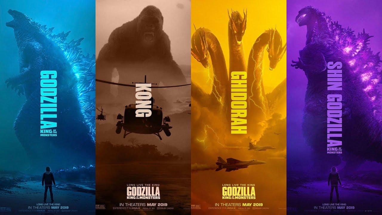 Godzilla King of the Monsters Trailer w/ Shin Godzilla and Kong ...