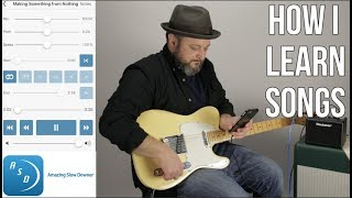 "How I Learn Songs By Ear With ""Amazing Slow Downer"" App - Guitar Gear"