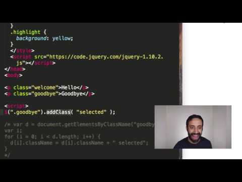 jQuery vs  JavaScript | What's the difference? - Learn to code in 30