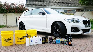 DETAILING MY BMW 1 SERIES!