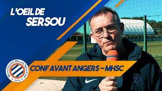 VIDEO: L'oeil de Sersou avant le déplacement à Angers !