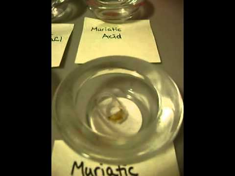 Hydrochloric Acid + Aluminum At Room Temperature