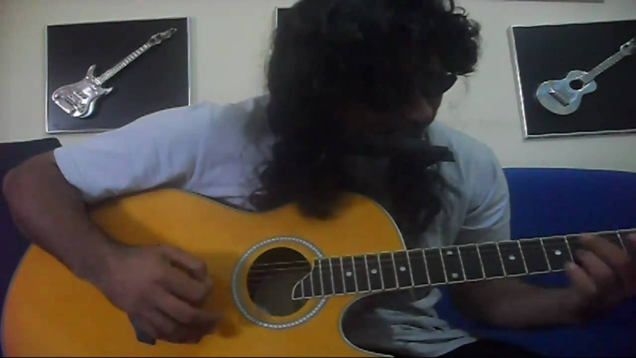 how to play goodbye my lover on guitar