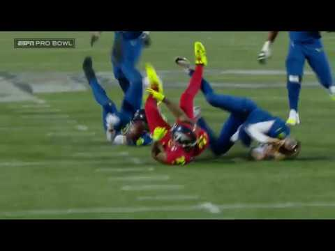 AFC Clinches Win with Aqib Talib Crazy INT Sequence! | 2017 NFL Pro Bowl Highlights
