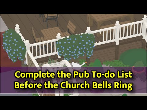Untitled Goose Game - Complete Pub List Before Church Bells Ring