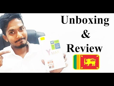 Huawei Y Max Unboxing & Review Sinhala