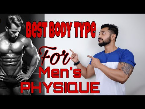 BEST BODY TYPE FOR MEN'S PHYSIQUE | HINDI