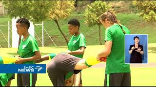 South Africa's women's under 17 football team has missed three prev...